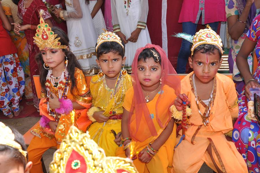 Janmashtami Little Rose Convent School-2013